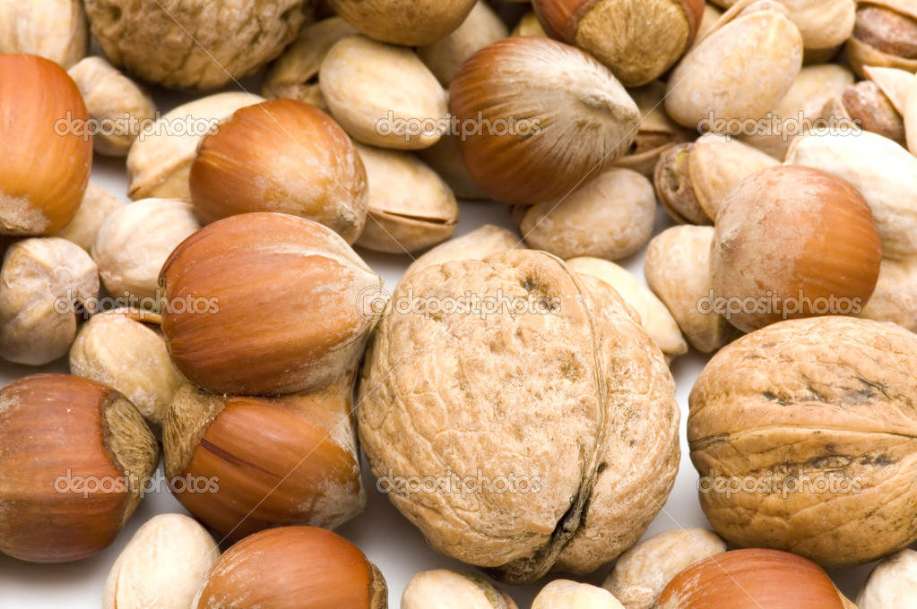 Object on white - food nuts — Stock Photo #1813189