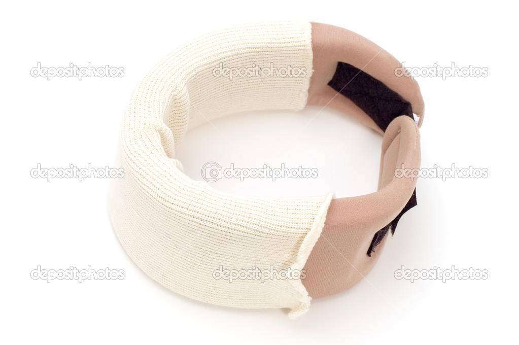 Object on white - medical tool orthopedic collar — Stock Photo #1813873