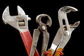 Set of pliers — Stock Photo