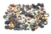 Sew color button — Stock Photo