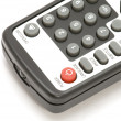 TV remote control macro - Stock Photo