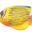 Stock Photo: Yellow Fish magnet