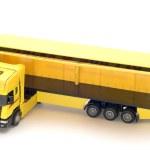 Yellow truck — Stock Photo