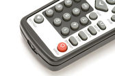TV remote control macro — Stock Photo