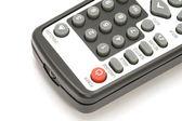 TV remote control macro — Stock Photo
