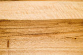 Wooden preparation table macro — Stock Photo
