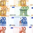 Bank note Euro - Stock Photo