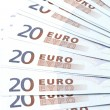 Stock Photo: Bank note twenty Euro