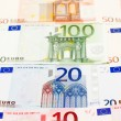 Bank paper Euro — Stock Photo
