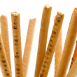 Bread straw macro — Stock Photo