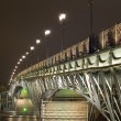 Bridge with illumination — Stock Photo