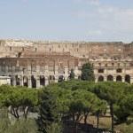 Amphitheater in Rome city — Stock Photo