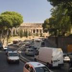 Amphitheater in Rome — Stock Photo