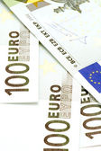 Bank note hundred Euro — Stock Photo