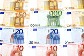 Bank note Euro — Stock Photo