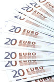 Bank note twenty Euro — Stock Photo