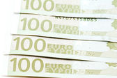 Bank-note hundred Euro — Stock Photo