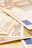 Banknote fifty Euro — Stock Photo