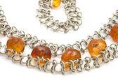 Beads with bracelet close up — Stock Photo