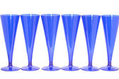 Blue goblet close up — Stock Photo