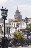 Centrum moskva — Stockfoto