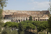 Amphitheater in Rome city — Photo