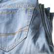 Blue jeans close up — Stock Photo #1852666