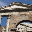Stock Photo: Building on Italy Roman forum