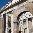 Stock Photo: Building on Roman forum