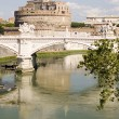 Stock Photo: Castle Saint Angelo in Rome