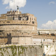 Castle St Angelo in Rome city — Stock Photo