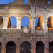 Stock Photo: Coliseum closeup