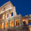 Coliseum in Rome city - Stock Photo