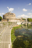 Castle St Angelo in Rome — Foto Stock