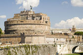 Castle St Angelo in Rome city — Stok fotoğraf