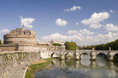 Castle St. Angelo in Rome — Stock Photo