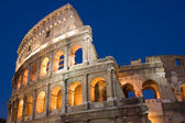 Colosseum in rome stad — Stockfoto