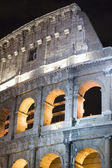Coliseum in the night closeup — Stock Photo