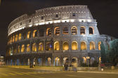 Coliseum in the night — Stock Photo
