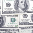 Dollar closeup — Stock Photo