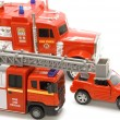 Fire brigade closeup — Stock Photo