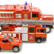 Fire brigade macro - Stock Photo