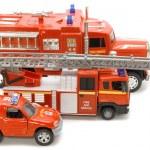 Fire brigade macro — Stock Photo
