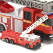 图库照片: Fire engine closeup