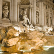 Fountain in Rome city - Stock Photo