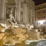 Fountain trevi in Rome — Stock Photo