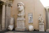 Emperor Constantine, Capitol, Rome — Stock Photo