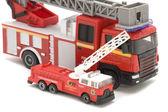 Fire engine closeup — Stock Photo