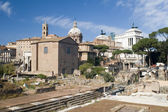 Forum in Rome city — Stock Photo
