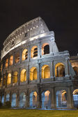 Italy Coliseum in the night — Stock Photo